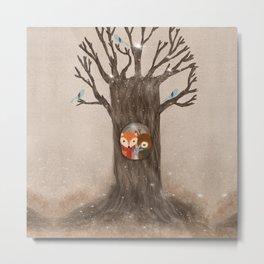 the old oak tree Metal Print