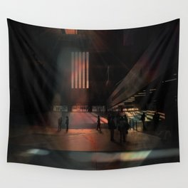City collage Wall Tapestry