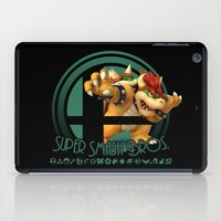 super smash bros iPad Cases featuring Bowser - Super Smash Bros. by Donkey Inferno