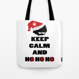 Keep calm and ho ho ho Tote Bag