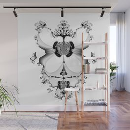 Fractal Art - Angel and Skelleton Wall Mural