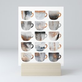 Dreamy Coffee Cups Mini Art Print