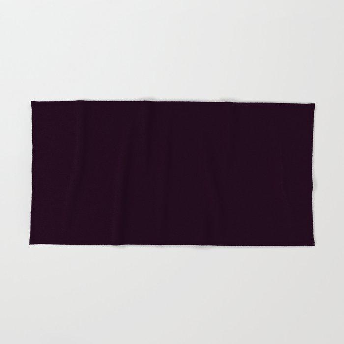 Simply Deep Eggplant Purple Hand Bath Towel