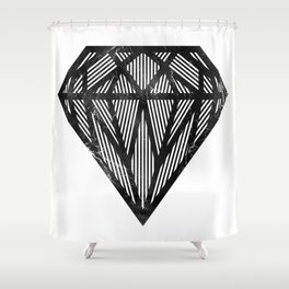 VISION CITY - INDESTRUCTIBLE Shower Curtain