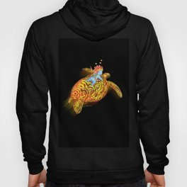 glowing turtle Hoody