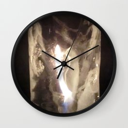 Fire from Ice - FredPereiraStudios.com_Page_24 Wall Clock