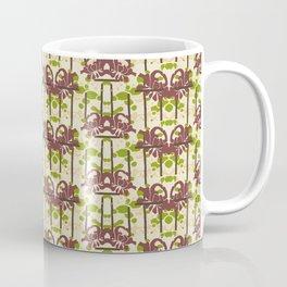 Modern Foral Chevron Coffee Mug