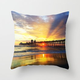 Waves of Solace Ultimate Throw Pillow
