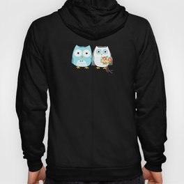 Owls Wedding Day | Bride and Groom Hoody