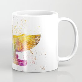 Egyptian goddess isis in watercolor Coffee Mug