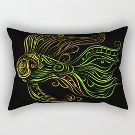 In the Dark Rectangular Pillow