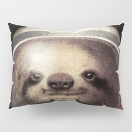 Space Sloth Pillow Sham