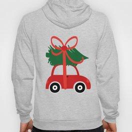 Christmas tree and  truck shirt Hoody