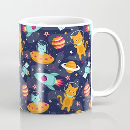 Cosmic Cats Coffee Mug