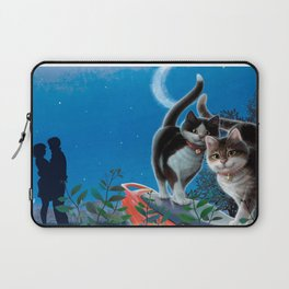 """Mosky Cat """"First love"""" Laptop Sleeve"""