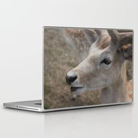 bambi Laptop & iPad Skins featuring Bambi by Justine Nicole