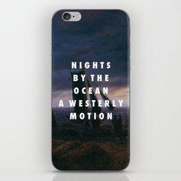 Bryn Between Two Rocks iPhone Skin