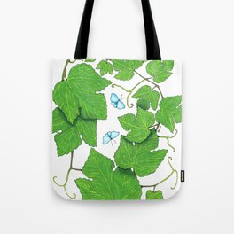 Grape Leaves Tote Bag