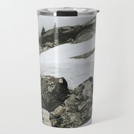 Snowy Cascade Trail Travel Mug
