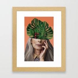Aging on the outside, more life inside. Framed Art Print