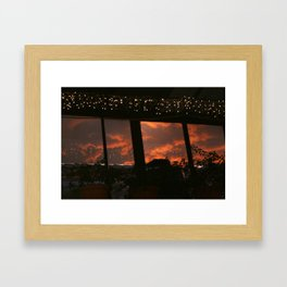 Stars in the Clouds Framed Art Print