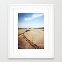 memphis Framed Art Prints featuring MEMPHIS by ABPhoto