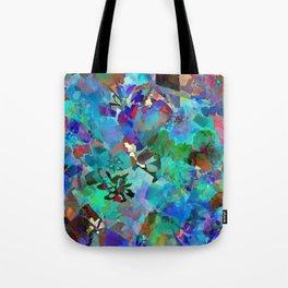 Hawaiian Jungle Batik Tote Bag