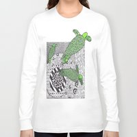 turtles Long Sleeve T-shirts featuring Turtles by Kandus Johnson
