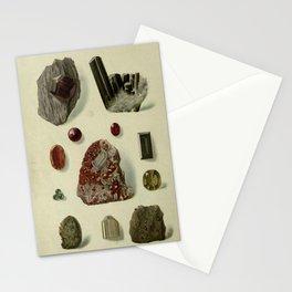 Garnet Minerals Stationery Cards