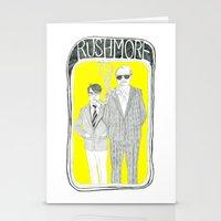 rushmore Stationery Cards featuring Rushmore by Vannia Palacio