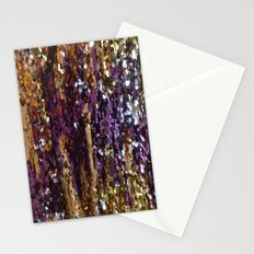PURPLE AND GOLD Stationery Cards