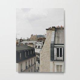 Tops of Paris Metal Print