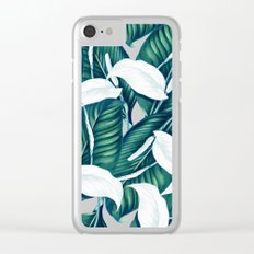 Tropical Winter #society6 #decor #buyart Clear iPhone Case
