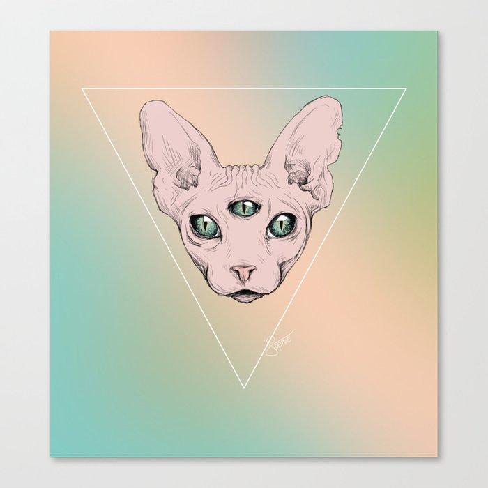 SPHYNX. Canvas Print