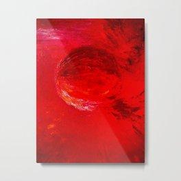 Abstract Apocalypse by Robert S. Lee Metal Print