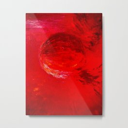 Abstract Apocalypse by Robert S. Lee Metal Print