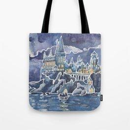 Magic Castle School for Magical Kids Tote Bag