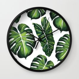 Tropical Leaves vol.4 Wall Clock