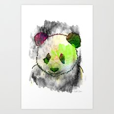 Marshmallow Panda Syndrome Art Print