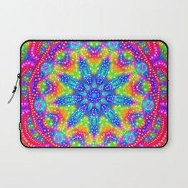 Amazing Day Neon Mandala Laptop Sleeve