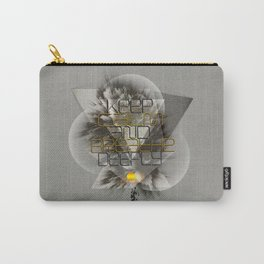 Keep calm and breathe deeply Carry-All Pouch