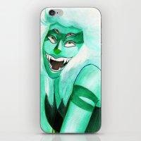 malachite iPhone & iPod Skins featuring Malachite by Moth Studios Art