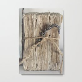 Tied up with String Metal Print