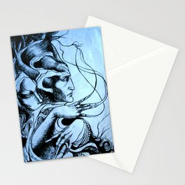 Mandrake roots Stationery Cards