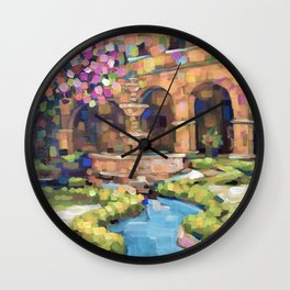 inside the untold city Wall Clock
