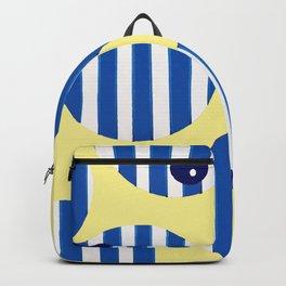 snooker balls in blue Backpack