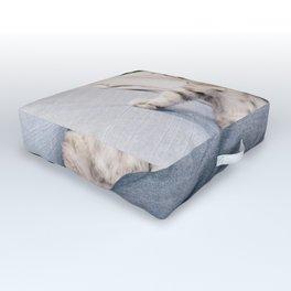 Baby Cat Art Print Outdoor Floor Cushion