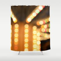 carousel Shower Curtains featuring Carousel by Julius Marc