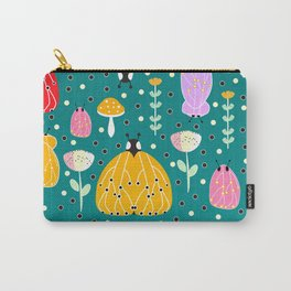 Bugs and mushrooms Carry-All Pouch