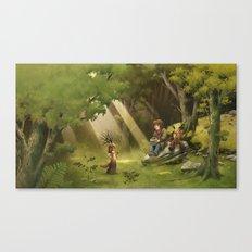 Colombine's apple tree / Le pommier de Colombine Canvas Print